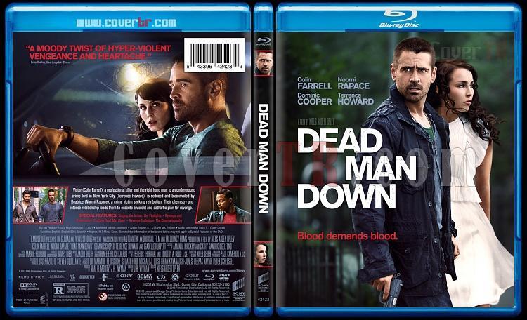 Dead Man Down - Custom Bluray Cover - English [2013]-deadmandownbunnydojojpg