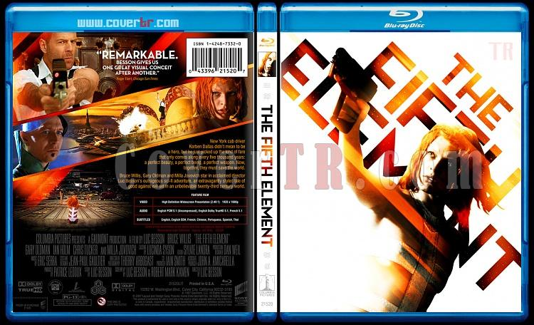 The Fifth Element - Custom Bluray Cover - English [1997]-fifthelementthejpg