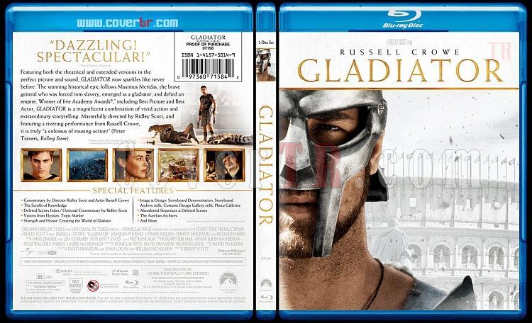 Gladiator - Custom Bluray Cover - English [2000]-gladiatorblubunnydojojpg