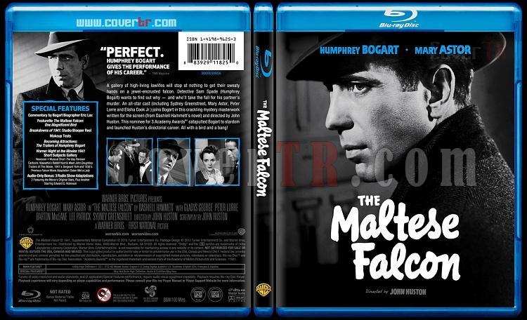 The Maltese Falcon - Custom Bluray Cover - English [1941]-maltesefalcontheblubunnydojojpg