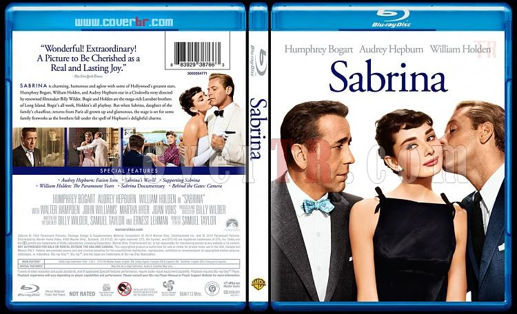 Sabrina - Custom Bluray Cover - English [1954]-sabrinabluraycoverbunnydojojpg