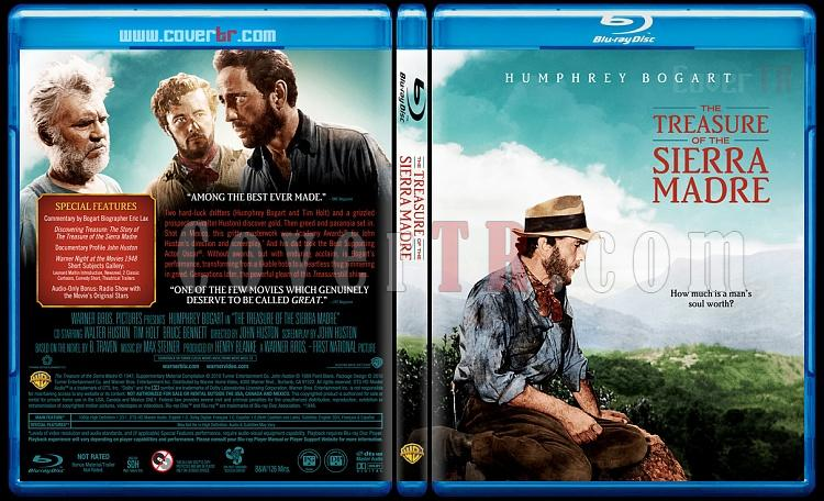 The Treasure of the Sierra Madre - Custom Bluray Cover - English [1948]-sierramadre1blubunnydojojpg