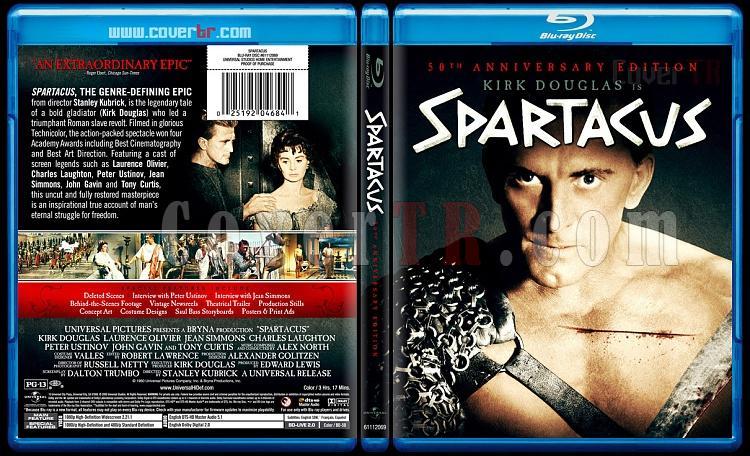 Spartacus - Custom Bluray Cover - English [1960]-spartacusbunnydojojpg