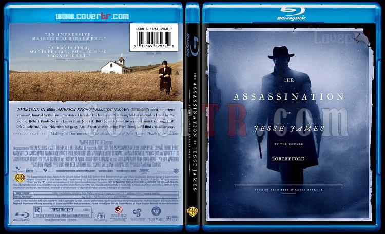 The Assassination of Jesse James by the Coward Robert Ford - Custom Bluray Cover - English [2007]-theassassinationofjessejamesbluraycoverbunnydojojpg