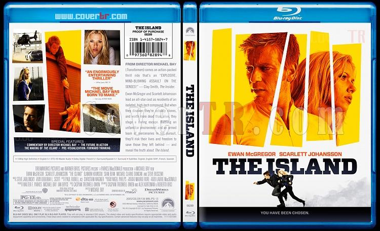 The Island - Custom Bluray Cover - English [2005]-theislandbluraycoverbunnydojojpg
