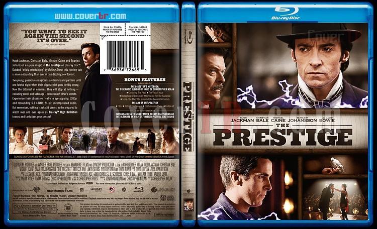 The Prestige - Custom Bluray Cover - English [2006]-theprestigebluraycoverbunnydojojpg