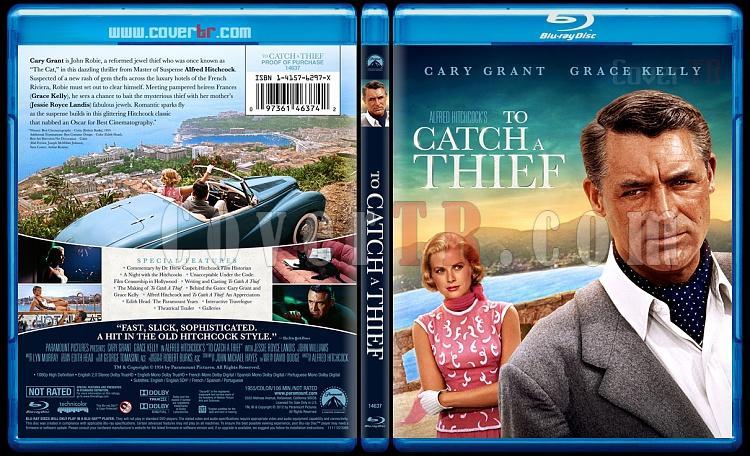 To Catch a Thief - Custom Bluray Cover - English [1955]-tocatchathiefbluraycoverbunnydojojpg
