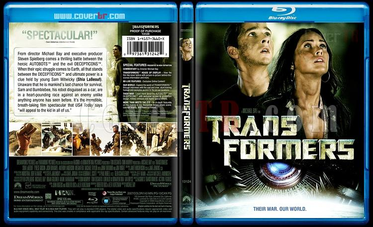 Transformers - Custom Bluray Cover - English [2007]-transformersblubunnydojojpg