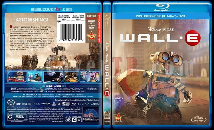 WALL·E - Custom Bluray Cover - English [2008]-wallejpg