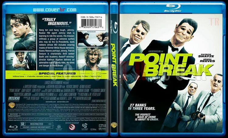 Point Break - Custom Bluray Cover - English [1991]-pointbreakbunnydojojpg