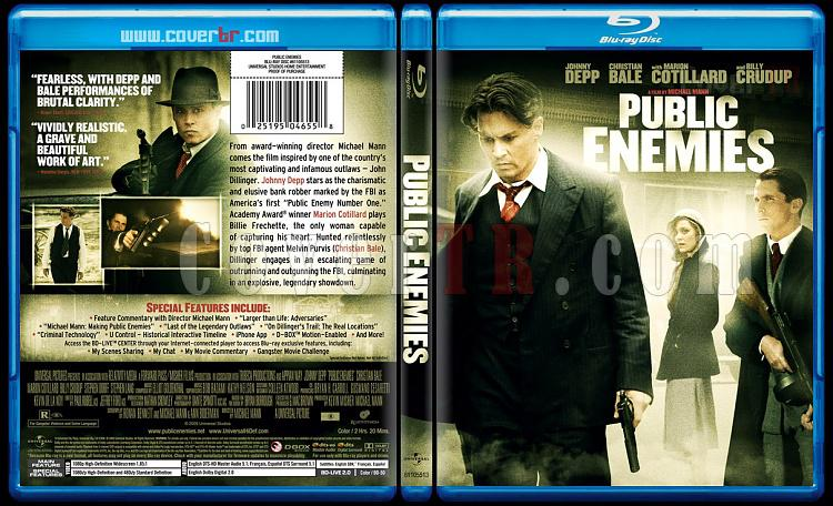 Public Enemies - Custom Bluray Cover - English [2009]-publicenemiesbunnydojojpg