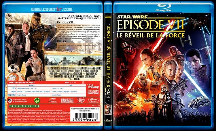 Star Wars: Episode VII (Le Réveil de la Force) - Custom Bluray Cover - French [2015]-star-wars11mmjpg