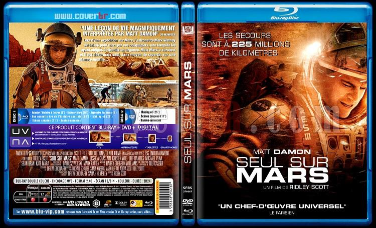 Seul sur Mars (The Martian) - Custom Bluray Cover - French [2016]-seul-sur-mars-3173x1762-11mmjpg