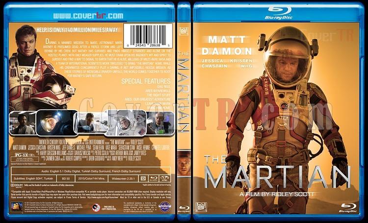 The Martian - Custom Bluray Cover - English [2015]-martian-bd-jokerjpg