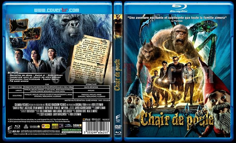 Chair de Poule (Goosebumps) - Custom Bluray Cover - French [2016]-chair-11mmjpg