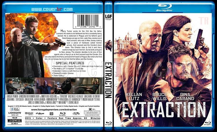 Extraction - Custom Bluray Cover - English [2015]-extraction-bluray-cover-jokerjpg