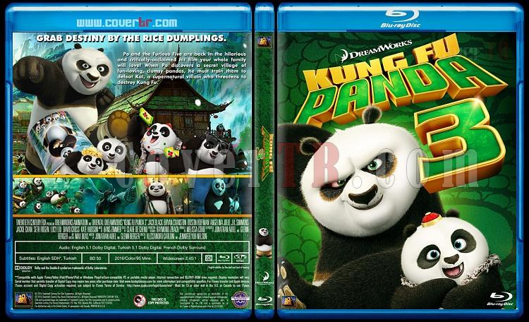 Kung Fu Panda 3 - Custom Bluray Cover - English [2016]-kung-fu-panda-3-bluray-cover-jokerjpg
