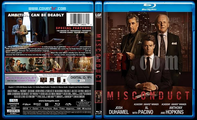 Misconduct - Custom Bluray Cover - English [2016]-misconduct-bluray-cover-jokerjpg