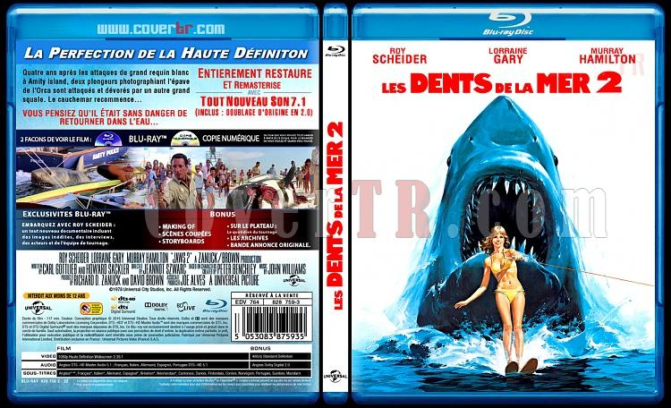 Les Dents de la mer 2 (Jaws 2) - Custom Bluray Cover - French [2016]-jaws-2-11mmjpg