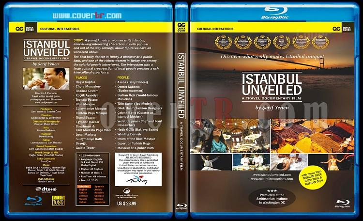 istanbul Unveiled - Custom Bluray Cover - English [2013]-istanbul-unveiledjpg