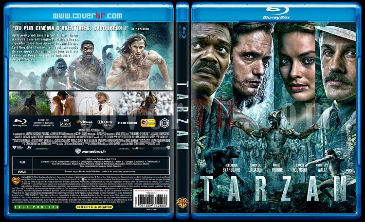 Tarzan (The Legend of Tarzan) - Custom Bluray Cover - French [2016]-tarzan11mmjpg