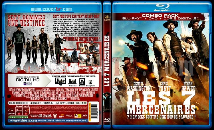 Les 7 Mercenaires ( The Magnificent Seven) - Custom Bluray Cover - French [2016]-les-7-3173x1762-11mmjpg