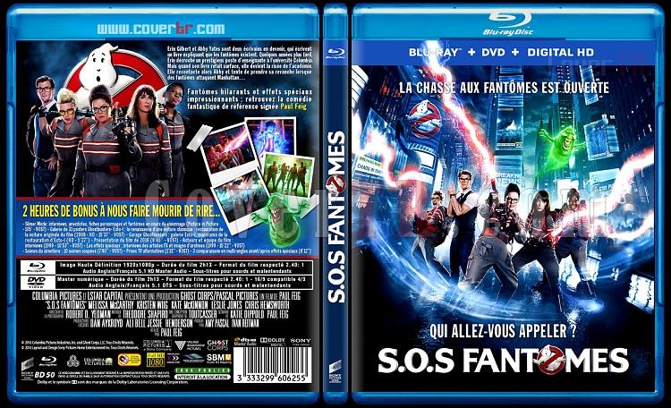 S.O.S. Fantômes (Ghostbusters) - Custom Bluray Cover - French [2016]-sos-3173x1762-11mmjpg