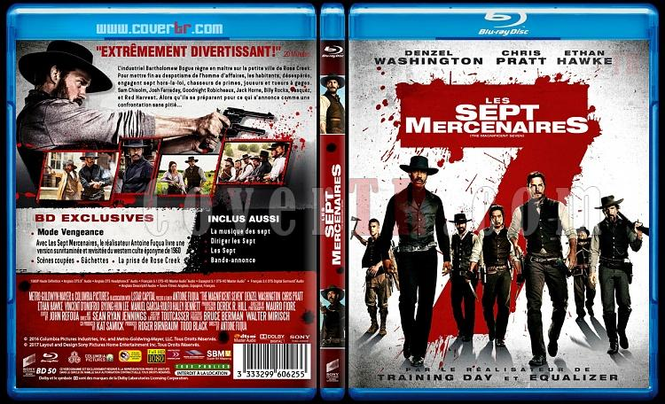 Les 7 Mercenaires ( The Magnificent Seven) - Custom Bluray Cover - French [2016]-les-711mmjpg