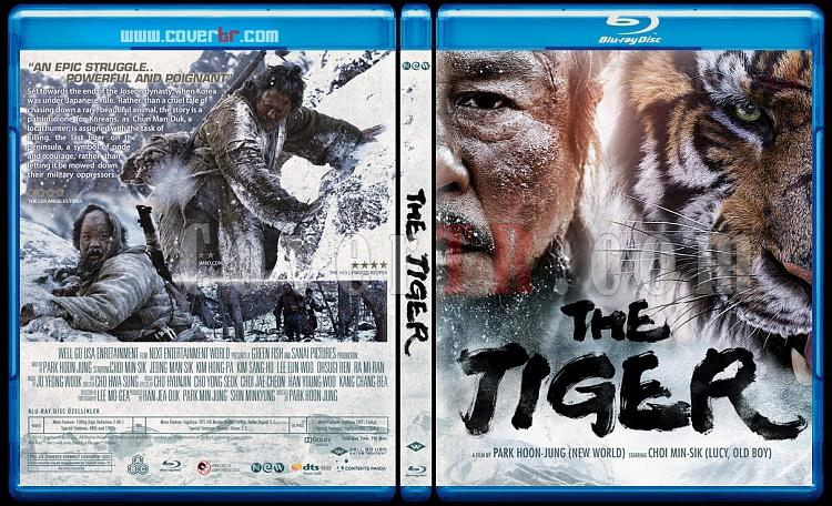 The Tiger-An Old Hunter's Tale - Custom Bluray Cover - English [2015]-tigerjpg