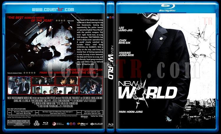 New World (Yeni Dünya) - Custom Bluray Cover - English [2013]-newjpg