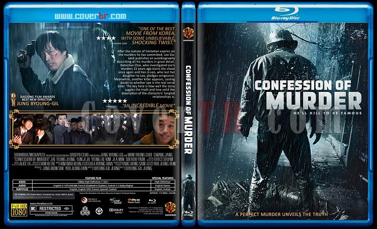 Confession of Murder (Ben Bir Katilim) - Custom Bluray Cover - English [2012]-murderjpg