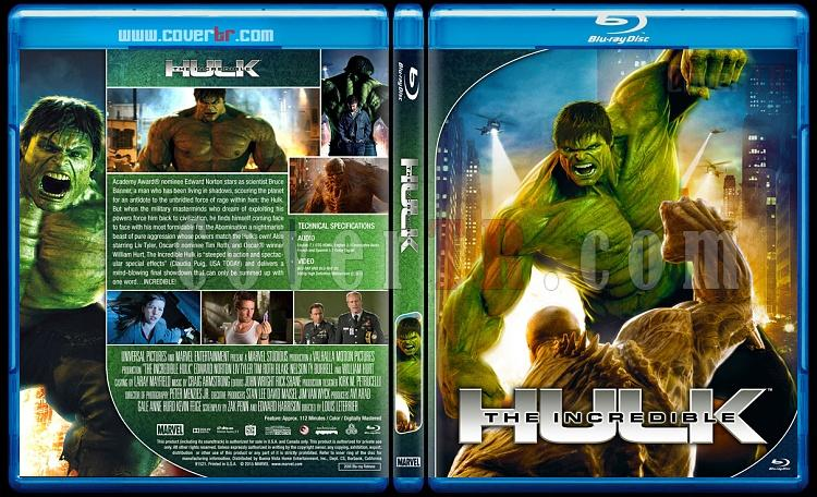 The Incredible Hulk - Custom Bluray Cover - English [2008]-hulk2jpg