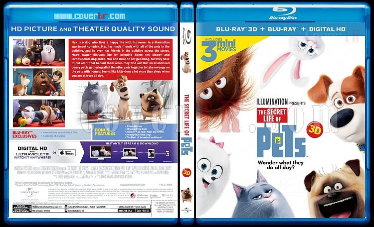 The Secret Life of Pets 3D (Evcil Hayvanların Gizli Yaşamı 3D) - Custom Bluray Cover - English [2016]-blu-ray-1-disc-flat-3173x1762-11mmjpg