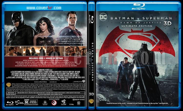Batman v Superman: Dawn of Justice 3D (Batman v Superman: Adaletin Safağı 3D) - Custom Bluray Cover - English [2016]-blu-ray-1-disc-flat-3173x1762-11mmjpg