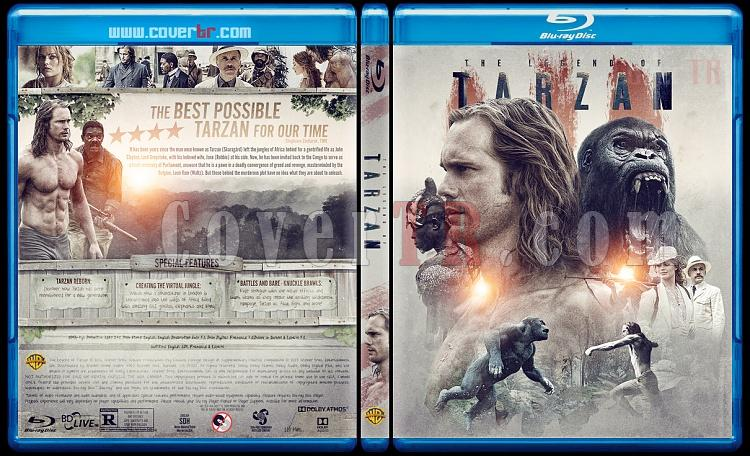 The Legend of Tarzan - Custom Bluray Cover - English [2016]-1jpg