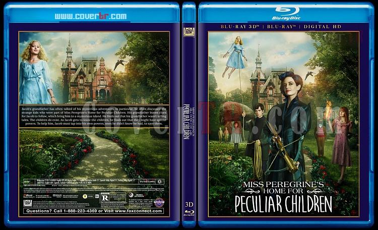 Miss Peregrine's Home for Peculiar Children 3D - Custom Bluray Cover - English [2016]-blu-ray-1-disc-flat-3173x1762-11mmjpg