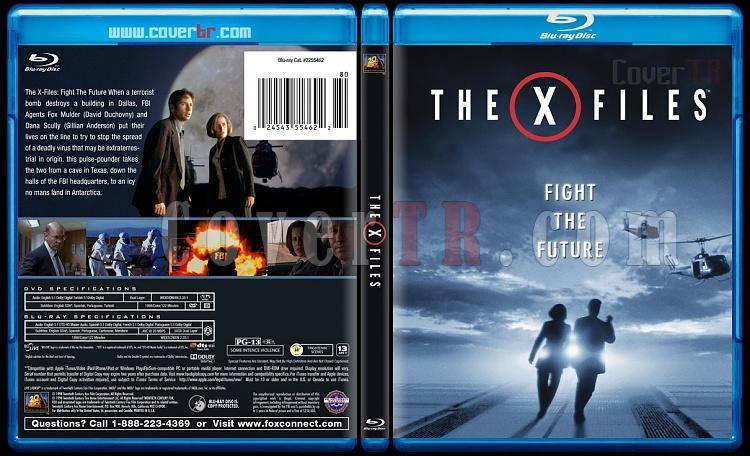 The X Files Custom Bluray Cover English 1998 Covertr
