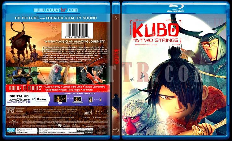 Kubo and the Two Strings 2D + 3D - Custom Bluray Cover - English [2016]-blu-ray-1-disc-flat-3173x1762-11mmjpg