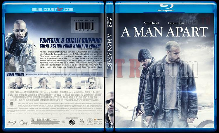 A Man Apart - Custom Bluray Cover - English [2003]-previewjpg