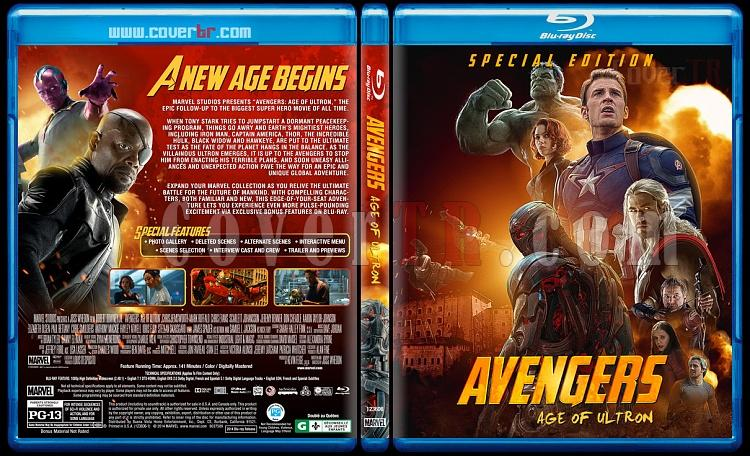 Avengers: Age of Ultron - Custom Bluray Cover - English [2016]-2jpg