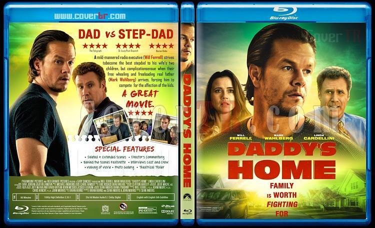 Daddy's Home - Custom Bluray Cover - English [2015]-2jpg