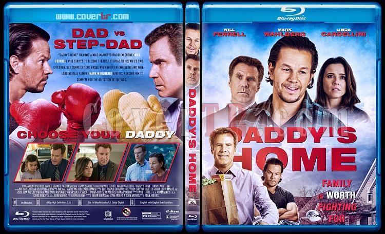 Daddy's Home - Custom Bluray Cover - English [2015]-3jpg