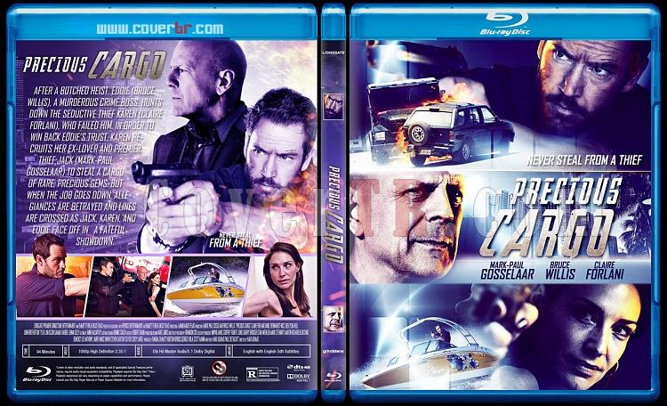 Precious Cargo (Özel Kargo) - Custom Bluray Cover - English [2016]-1jpg