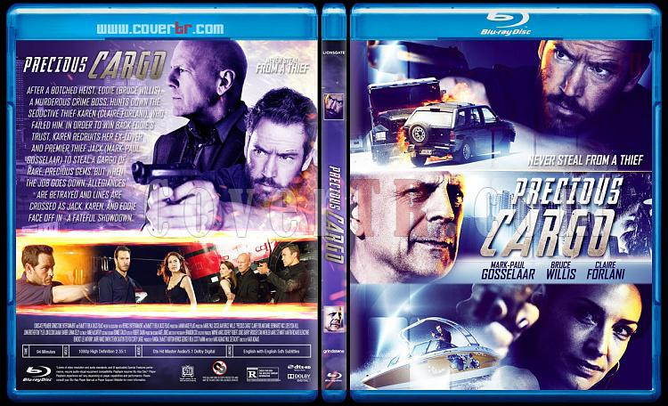 Precious Cargo (Özel Kargo) - Custom Bluray Cover - English [2016]-2jpg