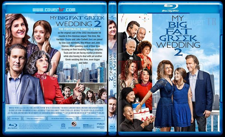 My Big Fat Greek Wedding 2 - Custom Bluray Cover - English [2016]-2jpg