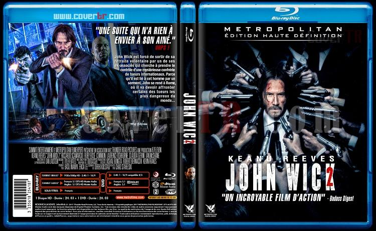 John Wick 2 - Custom Bluray Cover - French [2017]-john-wick-2jpg