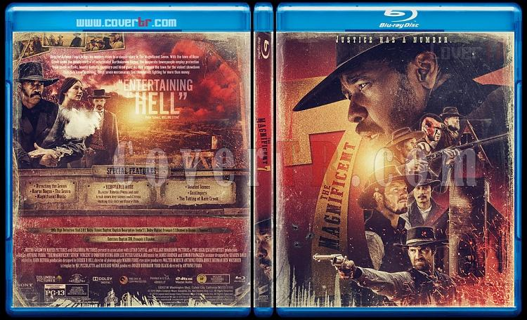 The Magnificent Seven - Custom Bluray Cover - English [2016]-1jpg