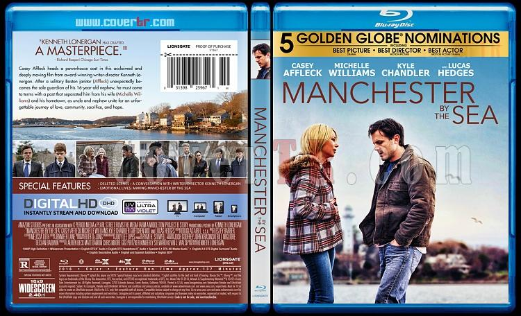 Manchester by the Sea (Yaşamın Kıyısında) - Custom Bluray Cover - English [2016]-2jpg