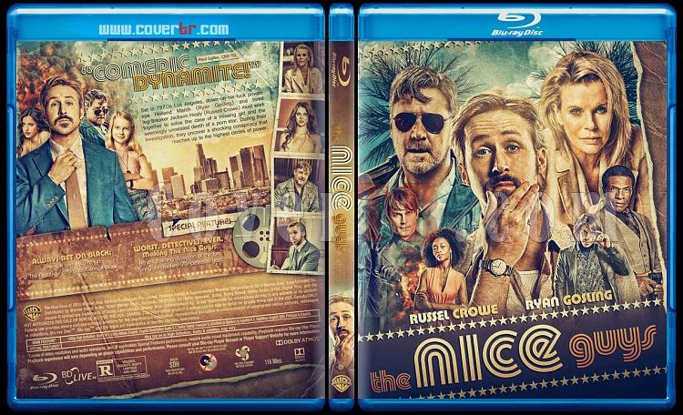 The Nice Guys - Custom Bluray Cover - English [2016]-1jpg