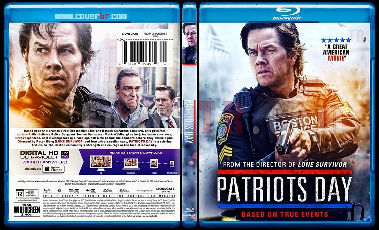Patriots Day (Kara Gün) - Custom Bluray Cover - English [2016]-1jpg
